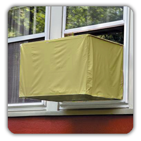 Custom Outside Window Air Conditioner Covers